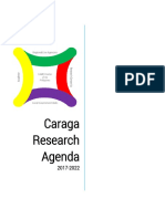 Caraga Research Agenda 2017-2022 Topics