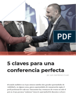 5 Claves Para Una Conferencia Perfecta