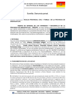 Denuncia Contra UGEL Andahuaylas
