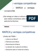 Marca y Ventajacompetitiva