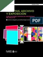 Revistas Archivos y Exposición Argentina