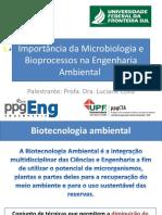 Importância Da Microbiologia e Bioprocessos Na Engenharia Ambiental