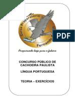 Capa Lingua Portuguesa Teoria Exercicios