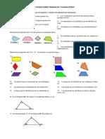 Taller Sobre Triángulos y Cuadriláteros