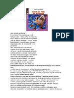 Atividade sobre o livro de Pedro Bandeira.