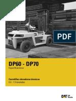 BRUCHURE DP70