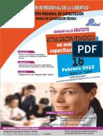 actualizacion pedagogica