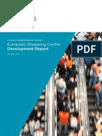 European Shopping Centre Development Report Nov 2015