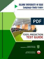 TOEFL Prediction Test Guide