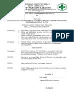 SK Penetapan Dokumen Ekternal dlm penyusunan pel klinis.doc