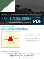 HABILITACIÓN PROFESIONAL
