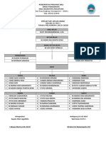 Struktur Organisasi Kelas XI IPS 1