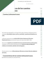 15 Características de Los Cuentos Latinoamericanos