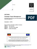 INF70005 Unit Outline 2019