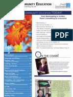 Adult Fall Supplement 2010 Brochure