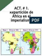 REPARTICIÓN DE ÁFRICA EN EL IMPERIALISMO
