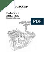 Below Ground Shelter
