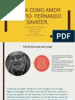 Ética Como Amor Propio- Fernando Savater