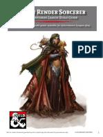 Flesh Render Character Build Guide