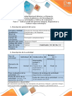 Guía de Actividades y Rubrica de Evaluación Fase 2 – Indicar Perfil Del Gerente Integral,