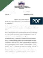 Analisis de Epistemologia -Diego Brito