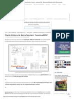 Planta Elétrica de Baixa Tensão + Download PDF - Ensinando Elétrica _ Dicas e Ensinamentos