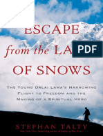 Escape From the Land of Snows by Stephan Talty - Excerpt
