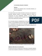 Diferencia Entre Chocolate Artesanal e Industrial