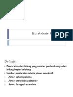 epistasksis