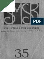 SMSR - VOL 35 - 1964 Fasc 1 - 2