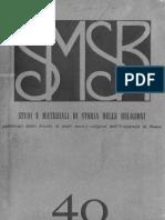 SMSR - VOL 40 - 1969 Fasc 1 - 2