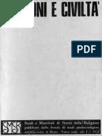 Religioni e Civiltá. SMSR - VOL 41 - 1970 [SMSR NS 1]