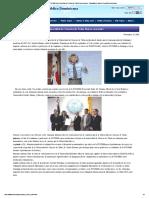 La PUCMM y La Universidad de Ciencias de Tokio Firman Convenio! _ Embajada Del Japón en República Dominicana