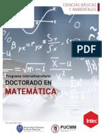 Brochure Matematicas Web