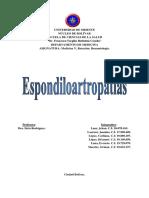 Seminario de Espondiloartropatias