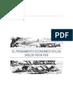 El Pensamiento Economico en Los Siglos XVII & XVIII