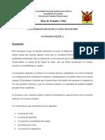 Presentacion Del Area Economia Politica