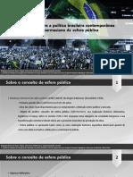 Breves reflexões sobre a política brasileira contemporânea à luz do conceito habermasiano de esfera pública