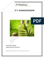 Guía para fabricar champú y acondicionador