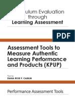 Curriculum Development - Report