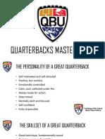 QBU Master Guide