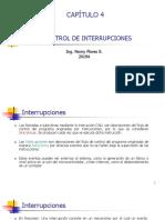 4. Control de Interrupciones
