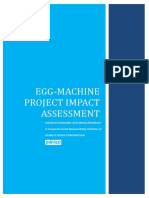 Pilmico's Egg-Machine Impact Assessment