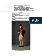 "(Research File) ""Short skirted, according to the dress of our soldiery."" An Overview of Continental Army Early-War Regimental Coat Design (With contributions by Henry M. Cooke IV and Matthew Keagle)"