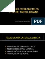 Anatomia Cefalometríca