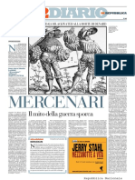 La Repubblica- Mercenari