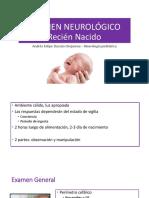 Examen Neurológico Rn