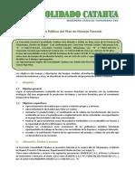 Resumen Del PGMF Consolidado Catahua