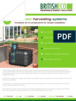 British Eco Rainwater Harvesting