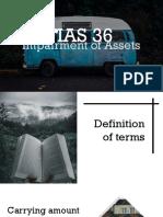 IAS 36 report